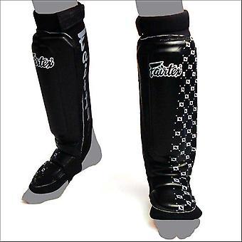 Fairtex mma style protège-tibias - noir