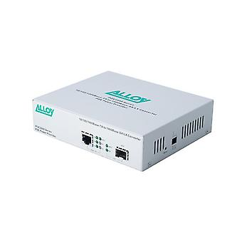 Alloy Poe2000Sfp Poe Pse Gigabit Ethernet Media Converter