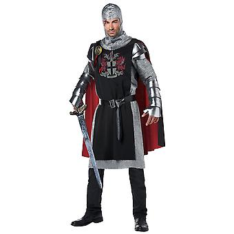 Medieval Knight Renaissance Crusader Warrior Game of Thrones Men Costume