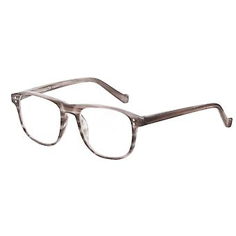 Reading glasses Unisex Le-0196B Pablo beige/brown strength +2,00