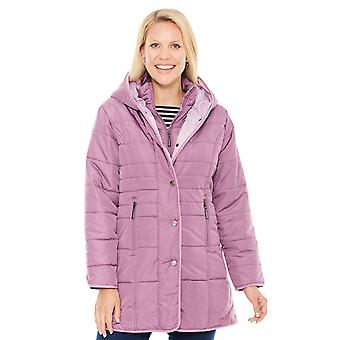 Chums Water Resistant Quilted Double Placket Jacket