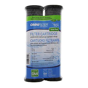 TO1-DS3-05 / TO1DS OmniFilter Whole House Replacement Filter Cartridge (2-Pack)