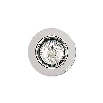 ideell lux - 1 lys tiltable innfelt spotlight (3 stk) hvit, GU10