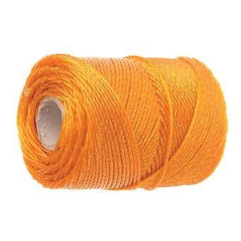 Faithfull 3250 Heavy-Duty Polyethyleen Brick Line 250m (820ft) Orange FAI3250