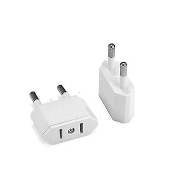 Eu Travel Power Adapter, Type C Plug Electric Ac Electrical Socket Outlet