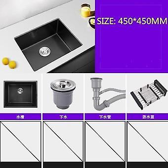 FANLIU Esquina fregadero colador del fregadero de cocina Muti-Prop/ósito portacestas Tri/ángulo de ba/ño de m/últiples funciones de drenaje estante de almacenamiento en rack esponja de la limpieza del cep