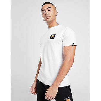 New Ellesse Men's Flynn Short Sleeve T-Shirt White