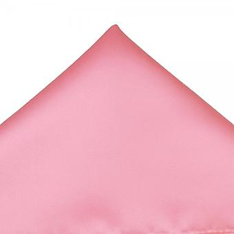 Ties Planet Plain Baby Pink Pocket Square Handkerchief