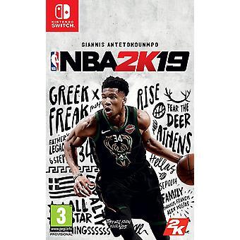 NBA 2K19 Switch Game (Duitse doos - Meerdere taal in game)