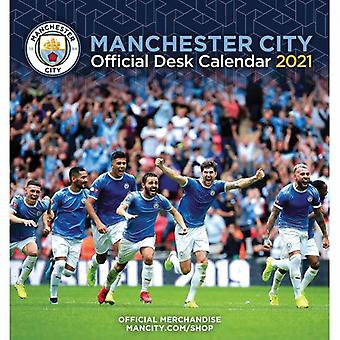 Manchester City Desktop Calendar 2021