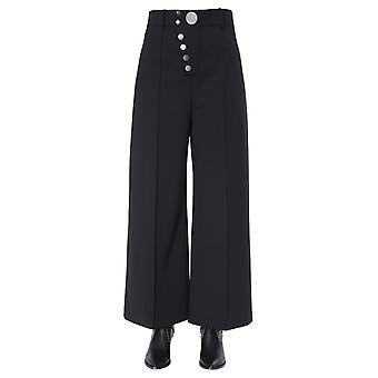 Alexander Wang 1w494088g3001 Women's Black Cotton Pants