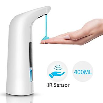 400ml Automatic Soap Dispenser, Hand-free Touchless, Sanitizer Bathroom Sensor