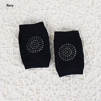 Retail Toddler Kids Silica Kneepad Protector Thicken Terry Baby Boy Girl Non-slip Dispensing Safety Crawling Bebe Leg Warmers