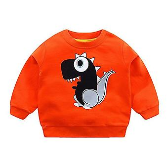 Baby Sweatshirt Autumn Spring Cotton Hoodie, Long Sleeve T-shirts Toddler