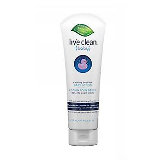 Live Clean Calming Bedtime Baby Lotion, 7.7 Oz