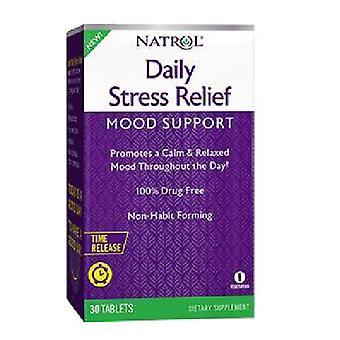 Natrol Daglig stress relief, 30 flikar