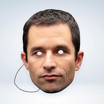 Mask-arade Benoit Hamon Kjendiser Party Ansiktsmaske