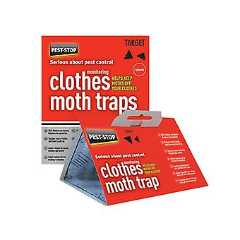Pest-Stop Systems Clothes Moth Trap (Pack of 2) PRCPSCMT