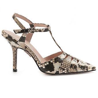 Damen Schuhe Anna F Python mit High Heel