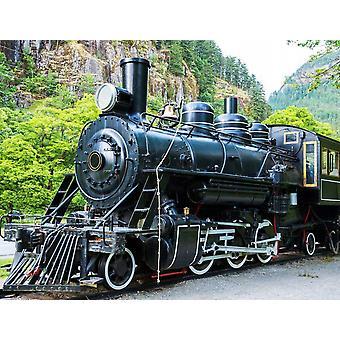 Wallpaper mural gamle Steam lokomotiv