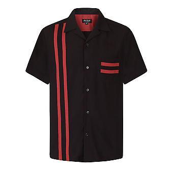 Chet Rock Lucky Stripe Bowling Shirt