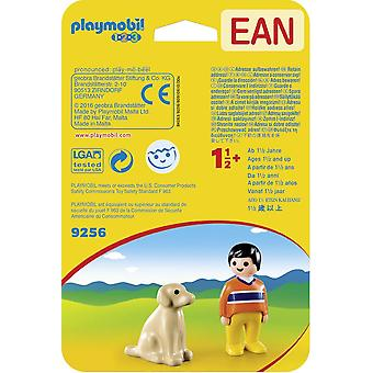 Playmobil 1.2.3 Man med hund