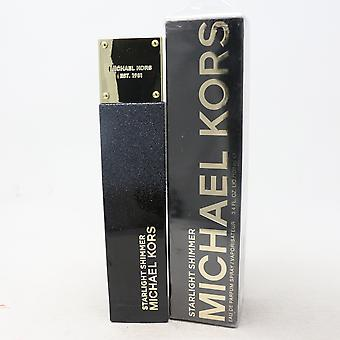 ستارلايت شيمر من قبل مايكل كورس أو دو بارفوم 3.4oz/100ml رذاذ جديد مع مربع
