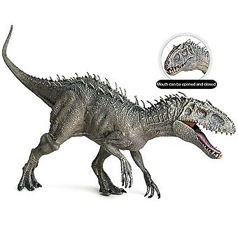 Big Size Plastic Jurassic Rex Action Figures Open Mouth  Dinosaur World