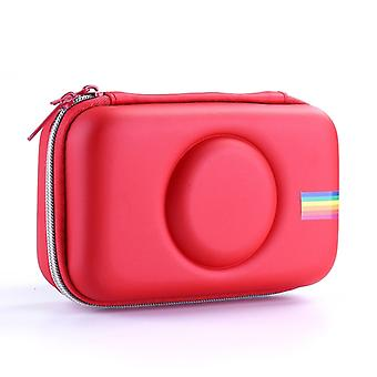 Camera Bag EVA Shockproof Camera Storage Bag for Polaroid Snap Touch(Red)