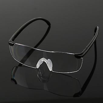 250 Degree Vision Glasses Magnifier Magnifying Eyewear Reading Glasses Portable