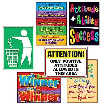 Attitude Matters Argus Posters Combo Pack, 6/Pkg