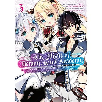 The Misfit Of Demon King Academy 3 by SHU