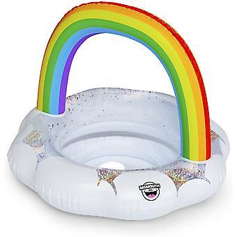 Anel de natação arco-íris para crianças de 70 cm anel de arco-íris anel infantil anel de natação
