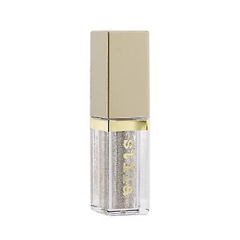 Stila Magnificent Metals Glitter & Glow Liquid Eye Shadow - # Diamond Dust (Sheer Silver With Multi Color Sparkle 4.5ml/0.153oz