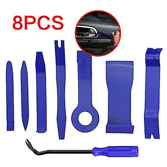 Special Disassembly Tool 8pcs Car Trim Removal Tool Door Plastic Panel Molding