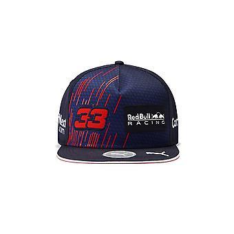 Red Bull Racing F1™ Max Verstappen Kids Flat Brim Cap 2021