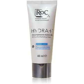 3 x RoC Hydra+ 24Hr Comfort Hydrating Cream - Normal Combination Skin 40ml