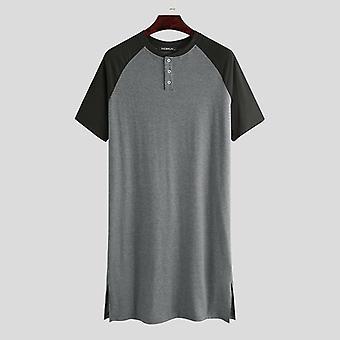 Sleepwear Κοντό Μανίκι, Νυκτερινά Ρούχα Με Λαιμόκοψη