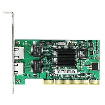 7212mt Gigabit Ethernet Network Adapter  Dual Port Rj45 Pci Lan Card Intel
