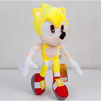 Fly Yellow Super Sonic Plush Soft Doll Stuffed Animal Toys 13 Inch Gift