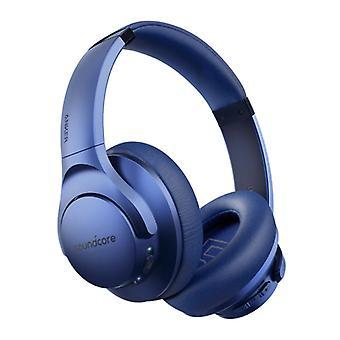 LANGATTOMAT ANKER Q20 -kuulokkeet - Langattomat Bluetooth 5.0 -kuulokkeet Stereo Studio Sininen
