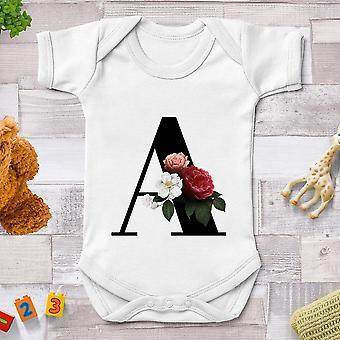 Новые летние младенческая одежда Baby Jumpsuits Графический Baby Bodysuit A-z Ropa