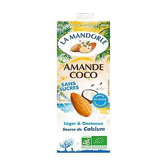 オーガニックココナッツアーモンドミルク 1 L