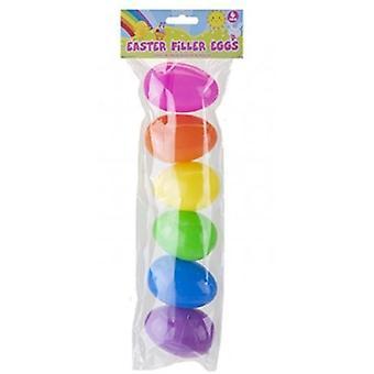Påske filler egg 6 Pack 5 x 8 cm - 6 pakker levert = 36 egg