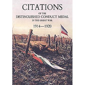 Citations of the Distinguished Conduct Medal 1914-1920 - SECTION 3 - Te