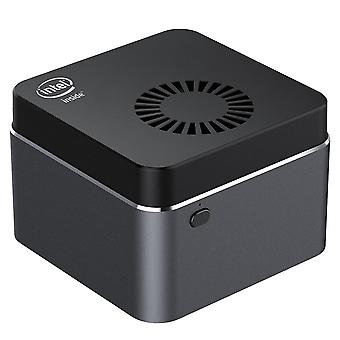 Neliytiminen Mini Pc Intel Celeron 128Gb M.2 Ssd 2.4g/5.0g Wifi Bluetooth