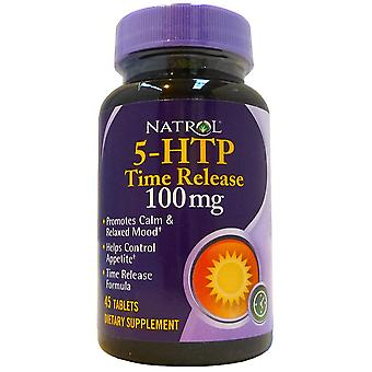 Natrol 5-Htp Time Release 100Mg 45 Tablets