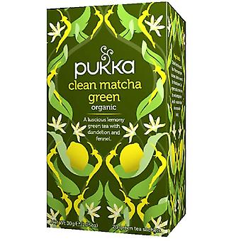 Pukka Bio Tea Clean Matcha Vihreä 20 kpl