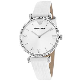 Emporio Armani Ar1680 Retro Silver Dial Ladies Watch