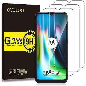 Wokex Panzerglas fr Motorola Moto G9 Play/Moto G10 / Moto G30, Anti-Kratzer Schutzfolie HD